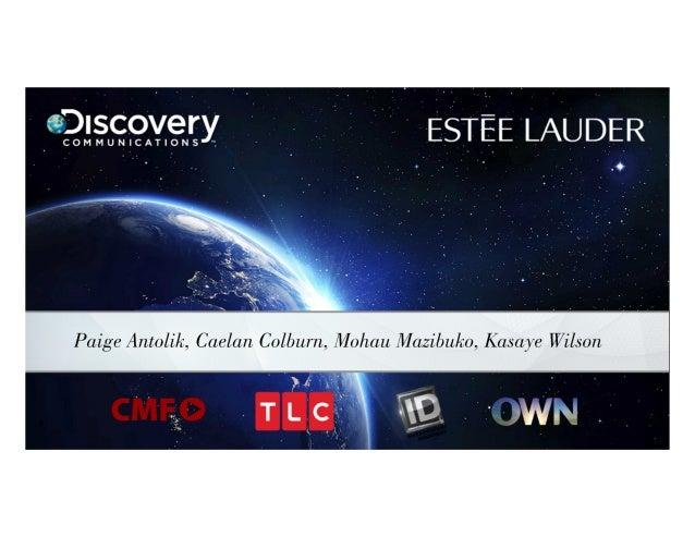 Estee Lauder Intern Presentation(Kg1)
