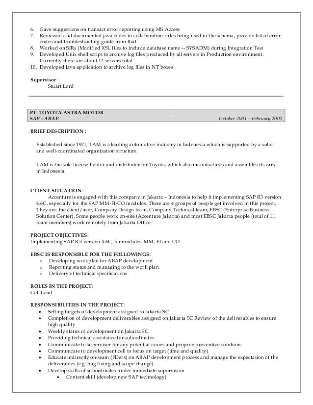 ferry ong - resume