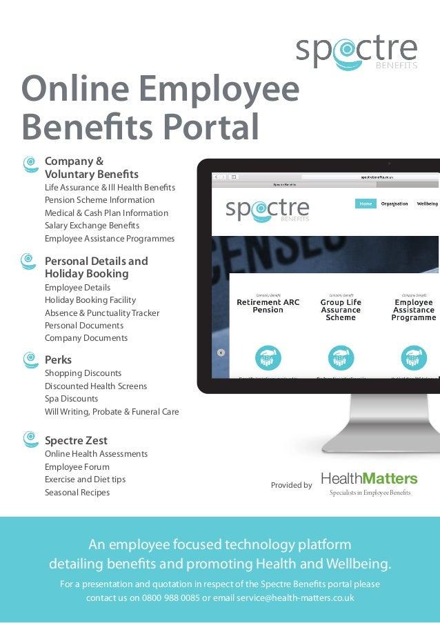 spectre benefits flyer