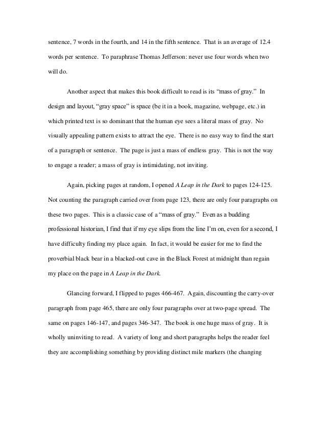 four paragraph essay