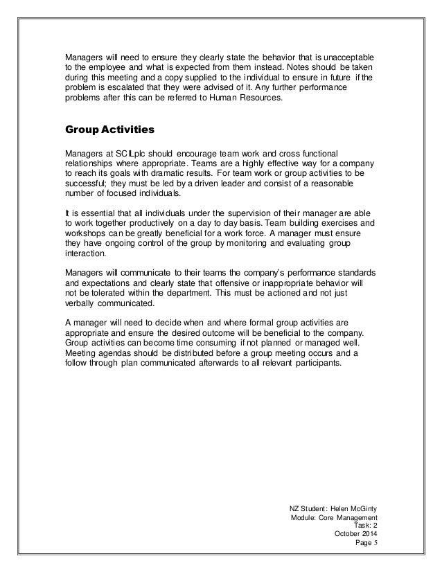 Core Management Group 120