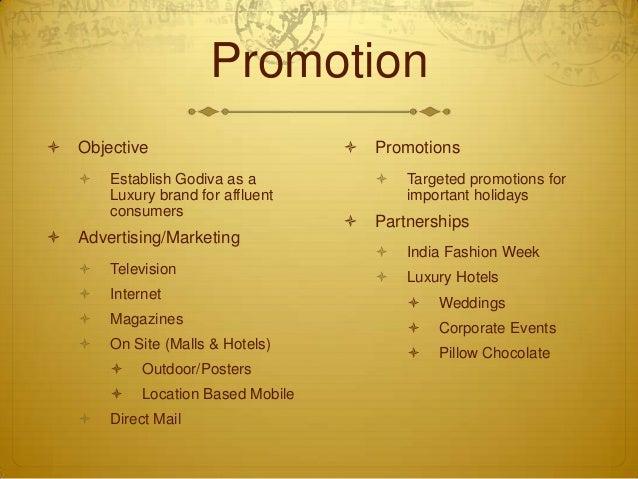 Godiva Expansion to India Marketing Plan