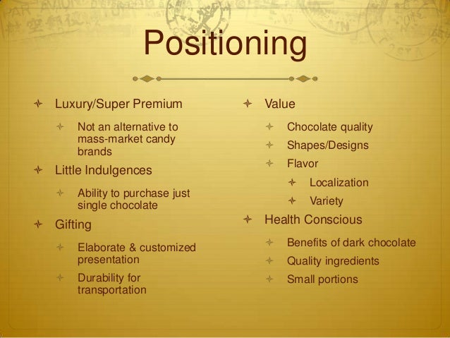 godiva swot analysis Global chocolate market: overview an array of graphics and swot analysis of major industry segments detailed analyses of industry trends.
