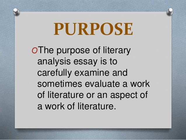 English Literature- How to write a literary analysis essay