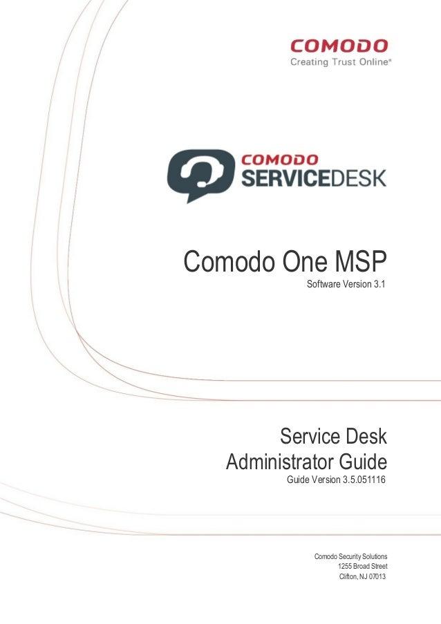 Comodo One | IT Help Desk Ticketing System