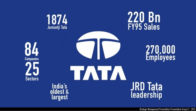 04 case 1 house of tata Tata group is an indian multinational of about $15162 billion as of march 1, 2018 significant tata companies and house, the head office of tata group.
