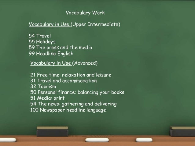 C1 Topic 12 Free Time & The Summer Slide 2