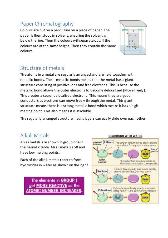 Chemistry additional notes edexcel 8 urtaz Images