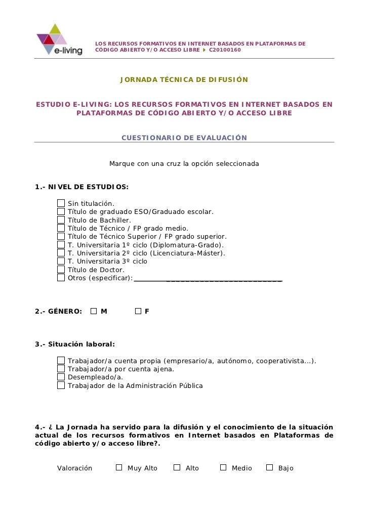 LOS RECURSOS FORMATIVOS EN INTERNET BASADOS EN PLATAFORMAS DE                   CÓDIGO ABIERTO Y/O ACCESO LIBRE  C20100160...