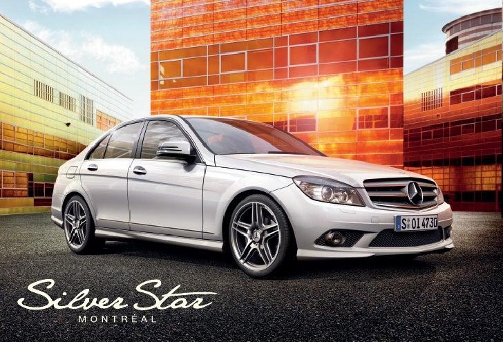 2010 mercedes benz c class silver star montreal qu bec canada for Mercedes benz silver star