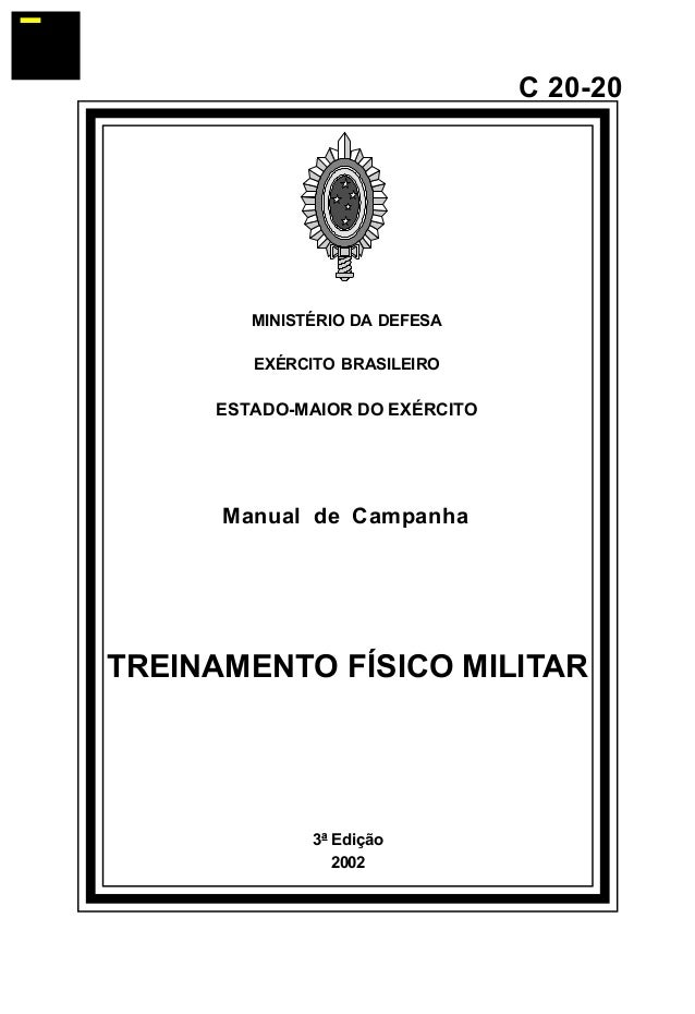 Manual de campanha treinamento f sico militar c 20 20 for Manual de acuicultura pdf