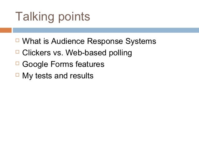 Using Google Forms To Engage Students In The Il Lecture