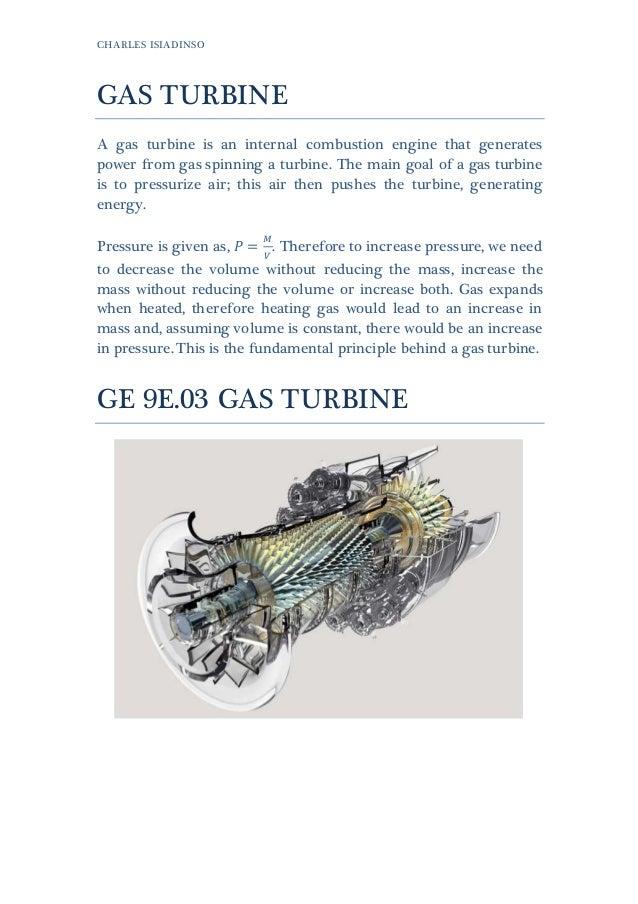 1. Gas Turbine (9E03)