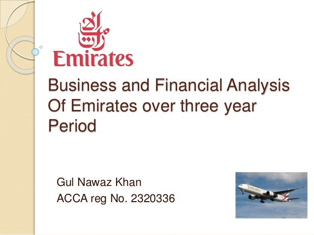 Emirates airline micro analysis