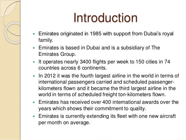 financial analysis at emirates airlines Find the latest and comprehensive swot & pestle analysis of emirates airlines, the leading global carrier, based in dubai, uae.