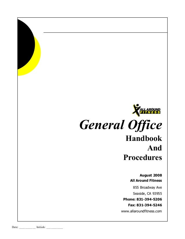 Office Procedures 2003
