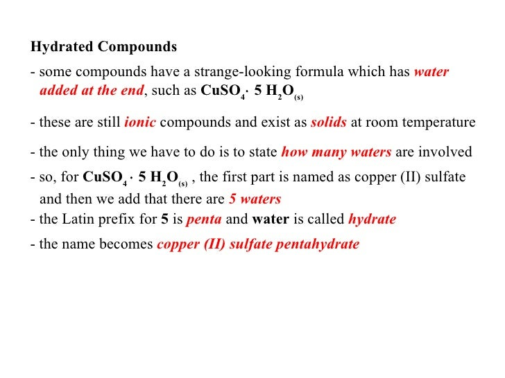 Copper  Sulfate State Of Matter At Room Temperature