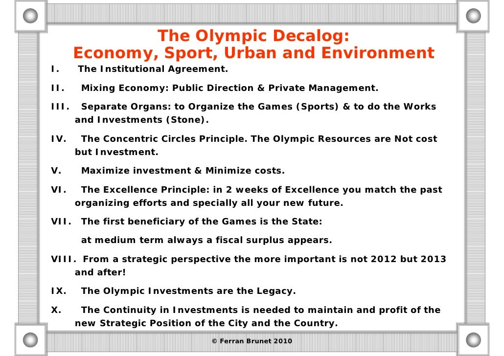 olympic impact local economic Economic legacy and impact: economic legacies and impacts encompass all the economically- related investment, spending and revenue generation effects of hosting the olympic games on the host city, region and country.