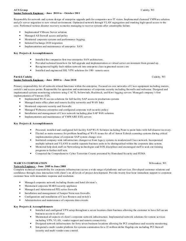 Resume For James Mcgarity