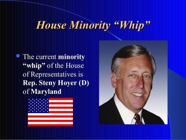 House Minority U201cWhipu201dHouse ...