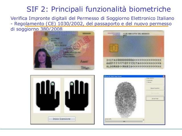 Biometria roma tre aprile 2014 finale for Verifica permesso soggiorno