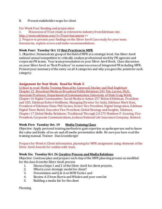 Pr case study questions