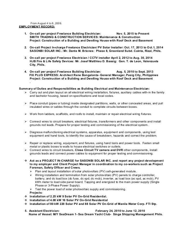 noel u0026 39 s  solar 2017  updated resume word 97