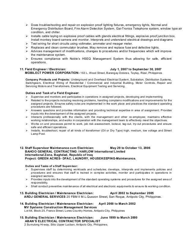 template resume example electrician resume template enchanting electrician resume example format pdf electrician resume exampleexample electrician