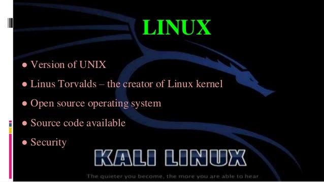 kali linux.pptx Slide 3