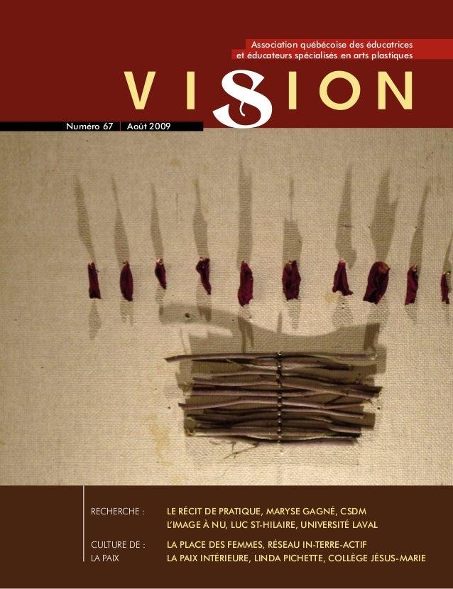 RECHERCHE :  Le récit de pratique, Maryse Gagné, CSDM  L'image à nu, Luc St-Hilaire, Université Laval CultURE DE : La p...