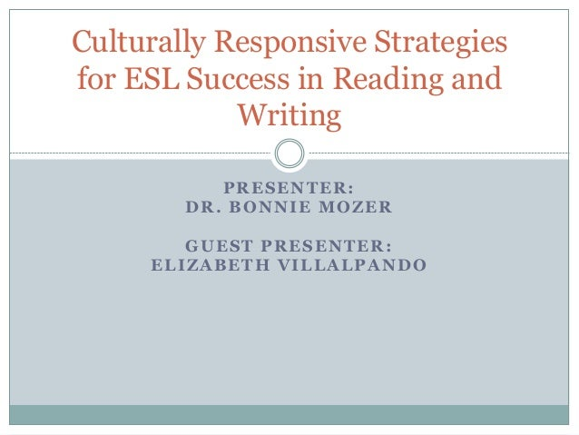 culturally relevant strategies This article considers two educational strategies that serve to empower students  by responding more authentically to student needs we begin by defining our.