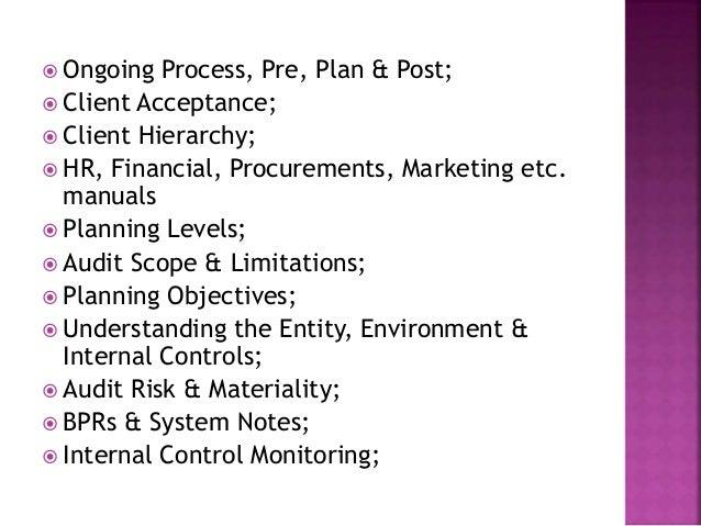 External Audit Presentation