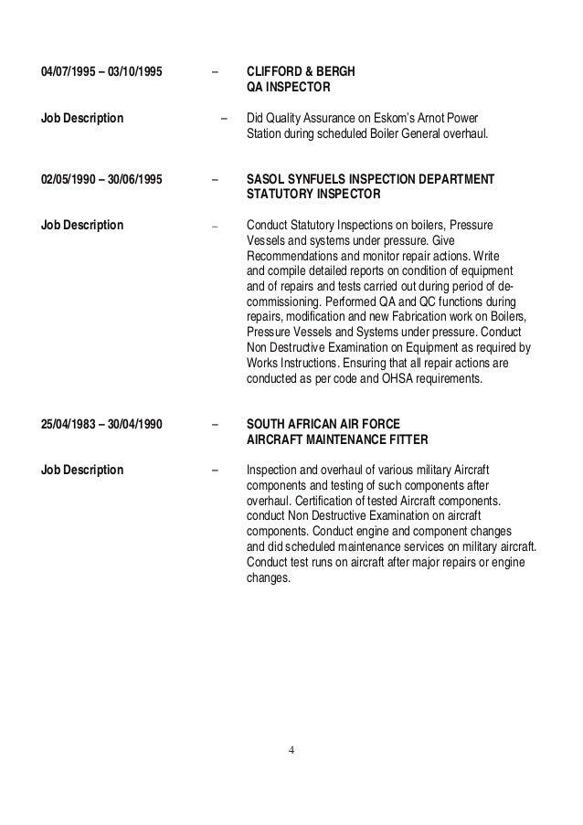 Steam Boiler: Steam Boiler Job Description