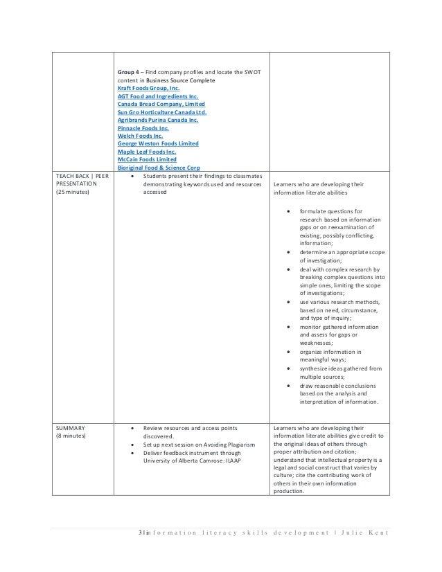 Marketing 281 Jan 2016 Lesson Plan Slide 3