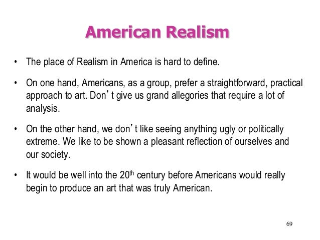 an analysis of american naturalism Henry's speech to the virginia convention analysis  what it means to be an  american mini-project (wiley  realism, naturalism, regionalism powerpoint.