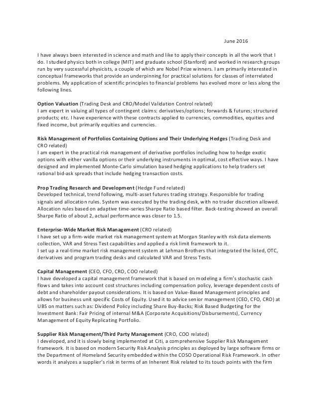 Quantitative Trader Cover Letter - sarahepps.com -