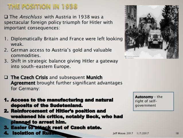 hitlers domestic policies Many german people had suffered during the first world war and the depression, so welcomed hitler's economic policies with open arms there was full employment, new public works and ordinary.