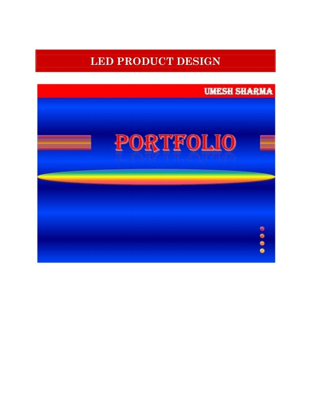 LED PRODUCT DESIGN