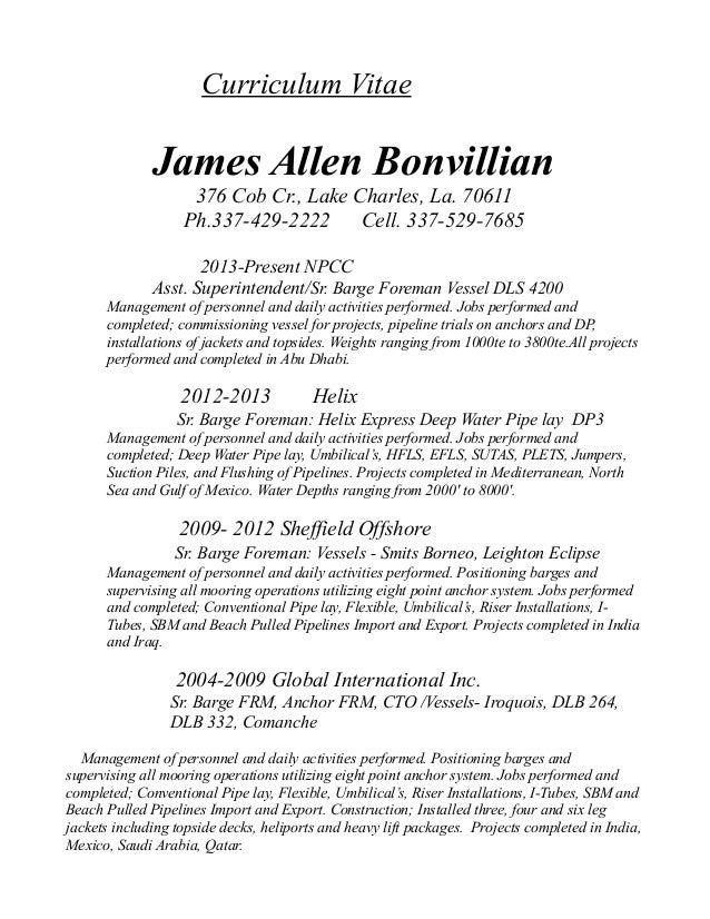 Updated CV 2013