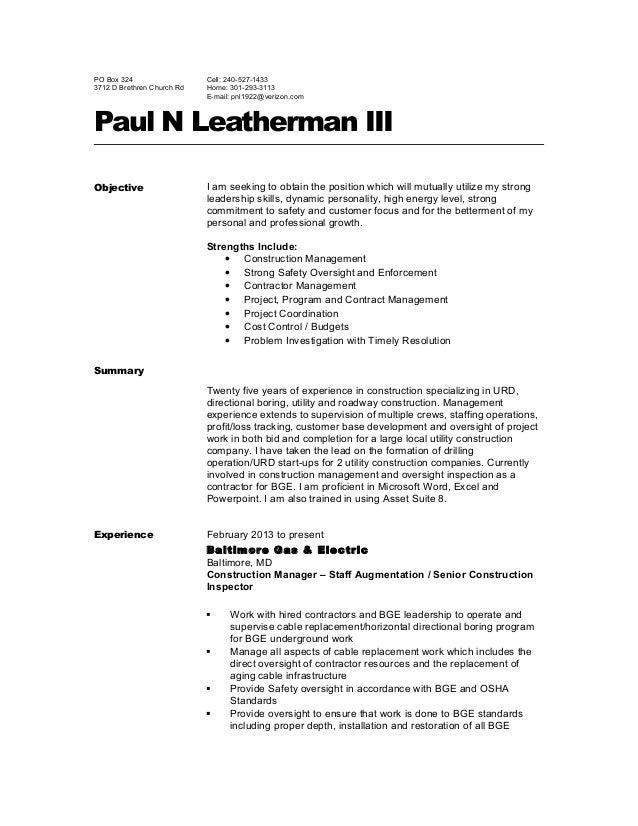 pnl resume