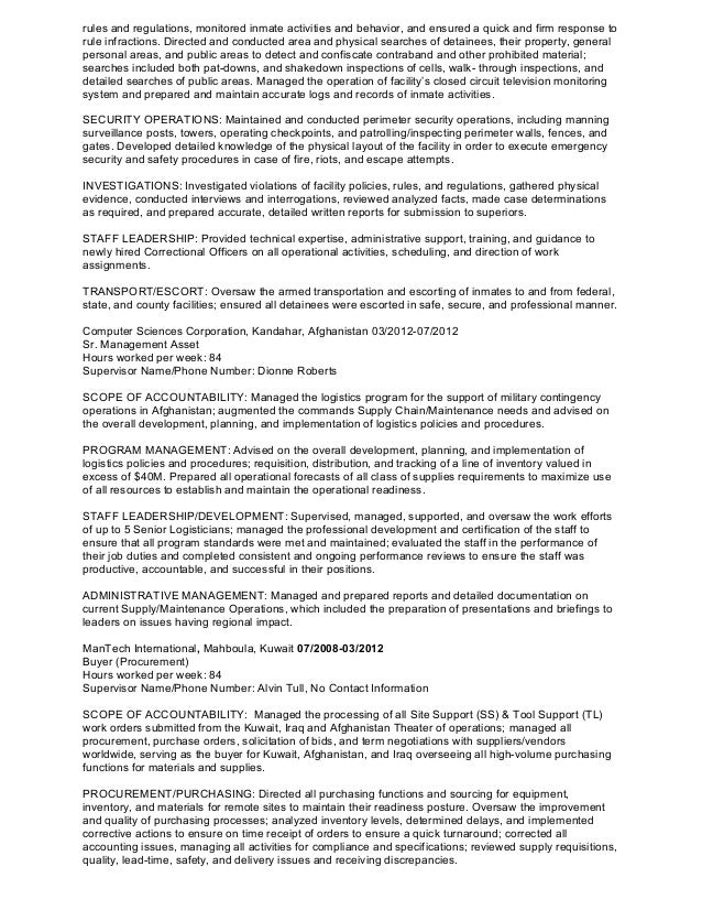 fletcher l  smith professional logistics resume  2
