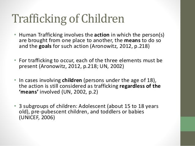 Human Trafficking | Institute for the Study of ...
