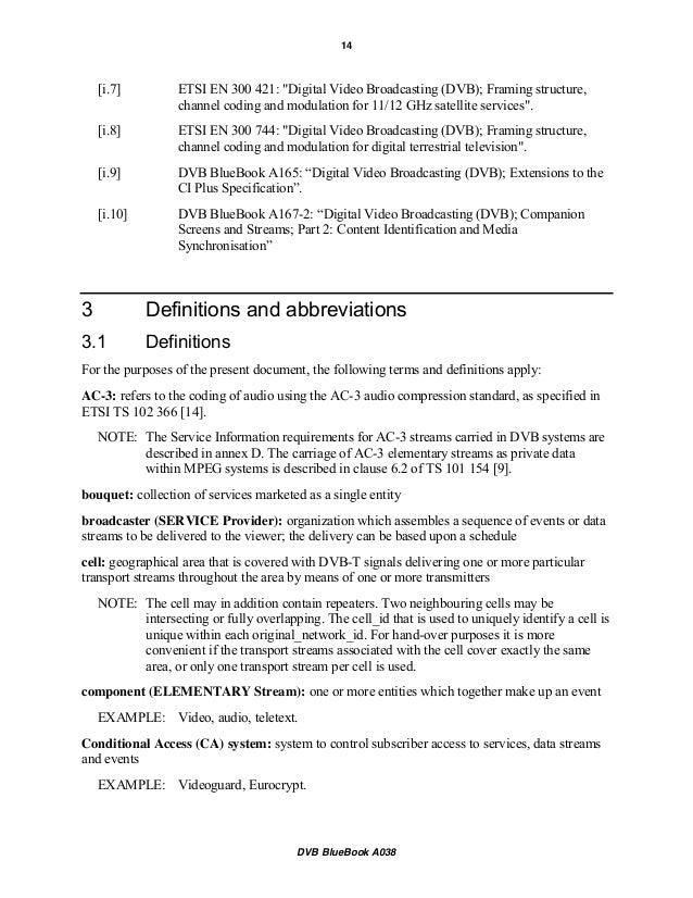 descriptors ac 3 dvb si specification