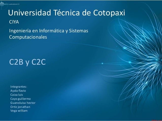 Universidad Técnica de CotopaxiIntegrantes:Ayala flavioCaiza luisCayo guillermoGuanoluisa hectorOrtiz jonathanVega william...