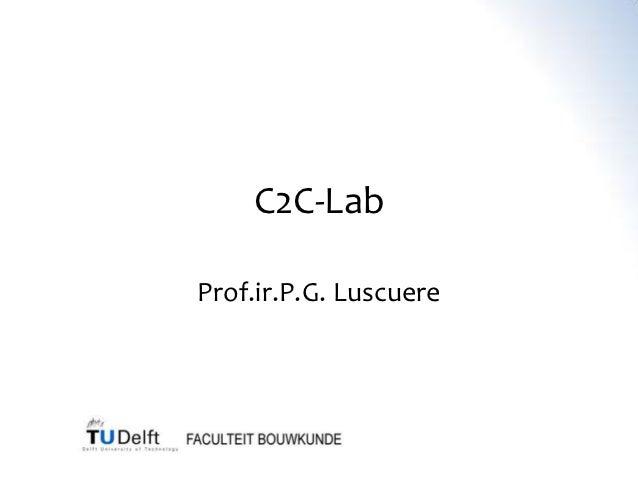 C2C-LabProf.ir.P.G. Luscuere
