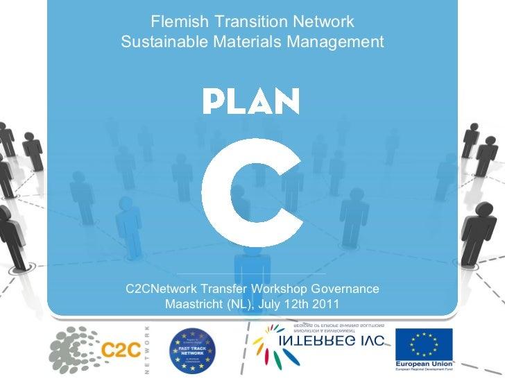 Flemish Transition Network Sustainable Materials Management C2CNetwork Transfer Workshop Governance Maastricht (NL), July ...