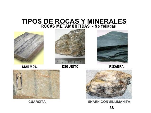 Curso conocimiento de la miner a 2014 - Tipos de piedras naturales ...