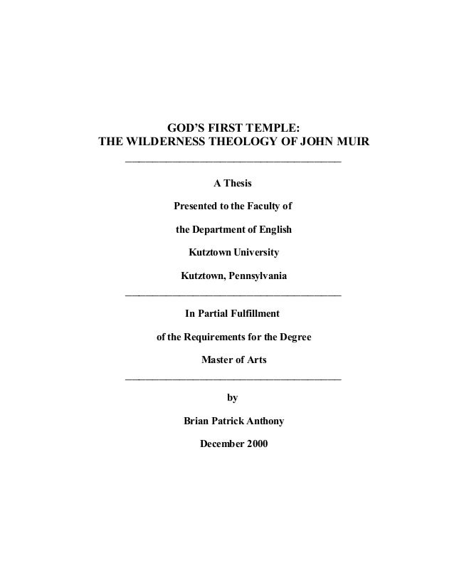 Doctoral dissertation theology