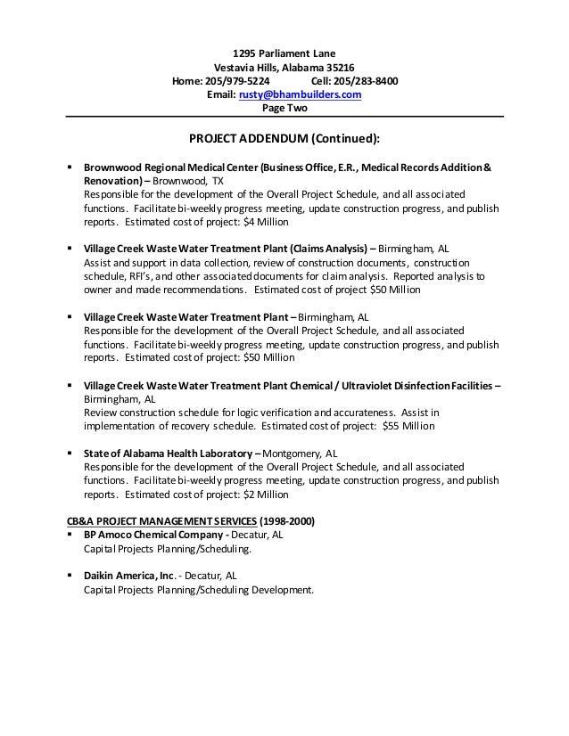 post resume birmingham alabama