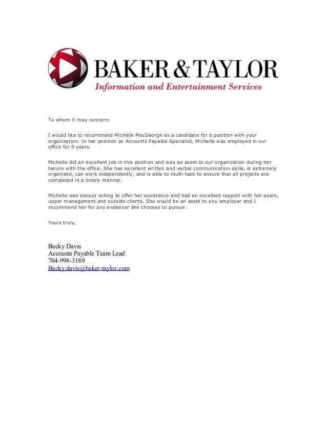 Work referral letter expocarfo Choice Image
